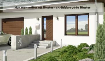 Hur man mäter ett fönster – skräddarsydda fönster